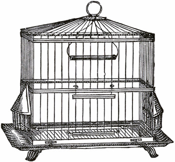 Metal Wire Large Bird Cage,Decorative Bird Cage,Garden And
