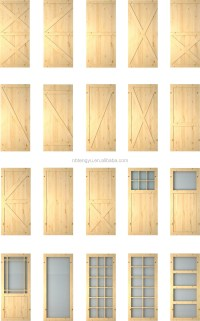 mirrored doors with black flat track barn door hardwares ...