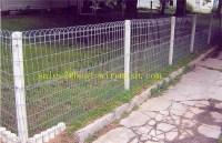 Green Vinyl Coated Welded Wire Mesh Double Loop Fencing ...