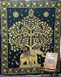Unique Colors & Designs Mandala Screen Print Tapestry Or ...