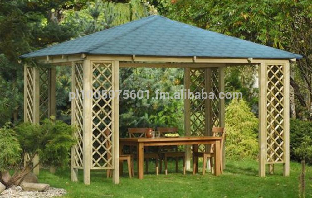 Holzpavillon Bauanleitung Und Bauplan Kreatif Von Zu Hause