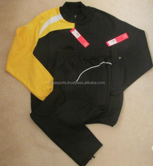 Mens Track Suits Custom Design Soccer Warm