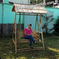 Bamboo Outdoor Chairs Swing Chair Home Center Furniture Bench Thatch Roof Buy