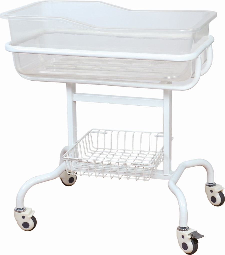 mobile hospital baby bed
