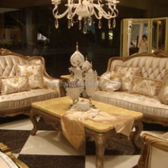 Arabic Living Room Furniture Small Sectional Sofa American Style Wooden Set Classic Italian Antique