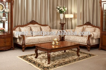 wooden sofa designs for living room beachy beds teak wood luxury style seats set