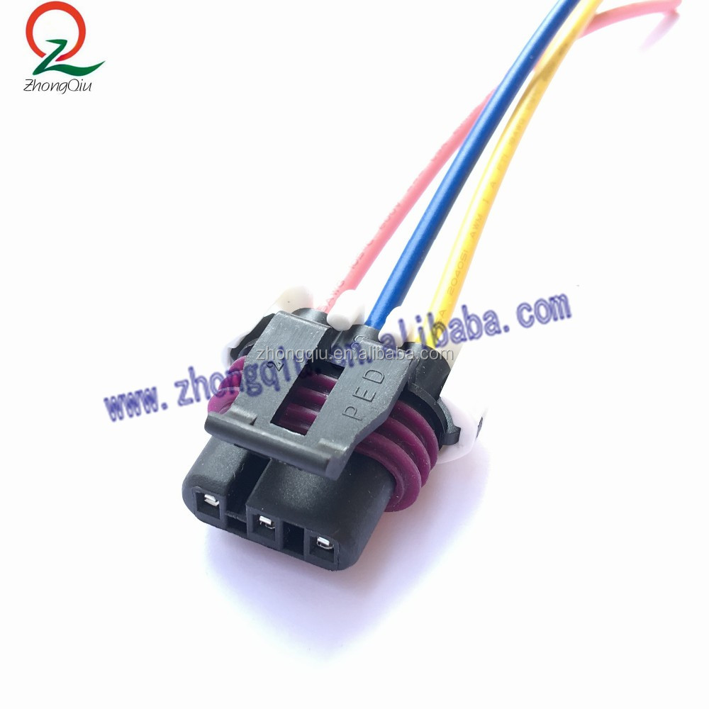 hight resolution of 3 pin maf sensor pigtail connector wiring harness for gm ls1 lt1 lt4 5 7l