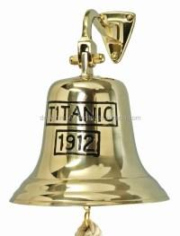 Brass Ship Bell Titanic 1912 - Buy Wall Hanging Bell,Brass ...