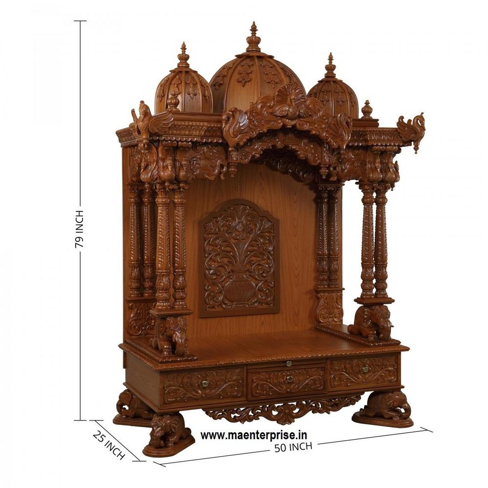 Indian Pooja Mandir Design In Home  Buy Pooja MandirMandir Design In HomeIndian Mandir For