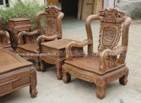 Wooden Sofa Sets - Carved Wooden Crafts Natural For Living ...