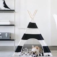 Christmas Teepee,Cotton Fabric Pet Teepee Tent Dog Cat ...