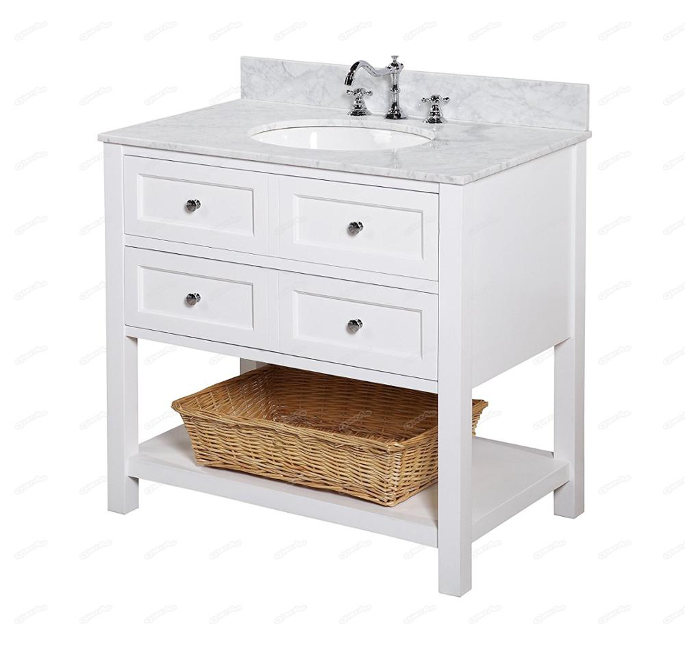 Bathroom Vanity Lowes 36 Inch Lowes White Modern Bathroom Vanity Combo With Ceramic Sink And Marble Countertop Buy Bathroom Vanity Lowes Bathroom Vanity Combo 36 Inch