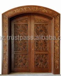 Decorative Front Doors,Interior Solid Wood Double Doors ...