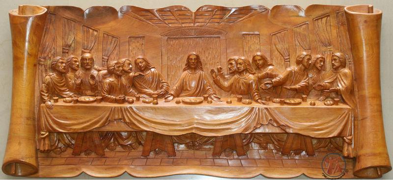 The Last Supper Wood Art Sculptures Buy Last Supper Wood