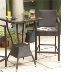 2 Chairs And Table Rattan Hanging Chair Ottawa Poly Bar Set With Classical Design Outdoor Furniture