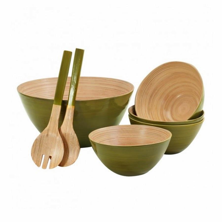erajinan Peralatan Makan Dari Bambu