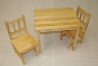 Kindergarten Solid Wood Kids Study Playing Table Chair ...