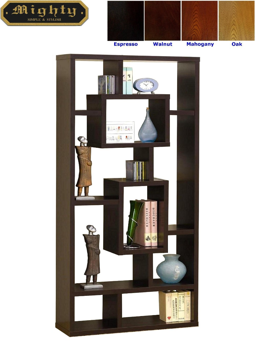 Free Standing Wooden Display Decorative Shelves  Taiwan