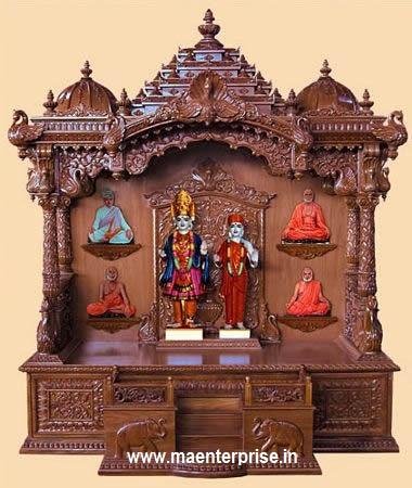 Wooden Pooja Mandir Temple Design For Home  Buy Wooden