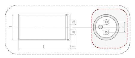 Motor Starting Capacitor Cd60 Ul Quality Guarantee-125vac