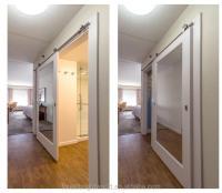 Hampton Inn Mirror Sliding Barn Doors For Bathroom And ...