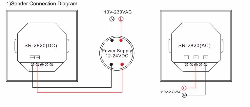 rgb wireless remote controller wiring diagram