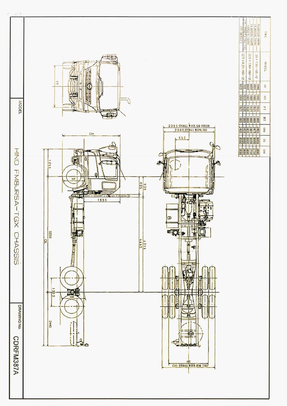 hight resolution of hino truck 6x4