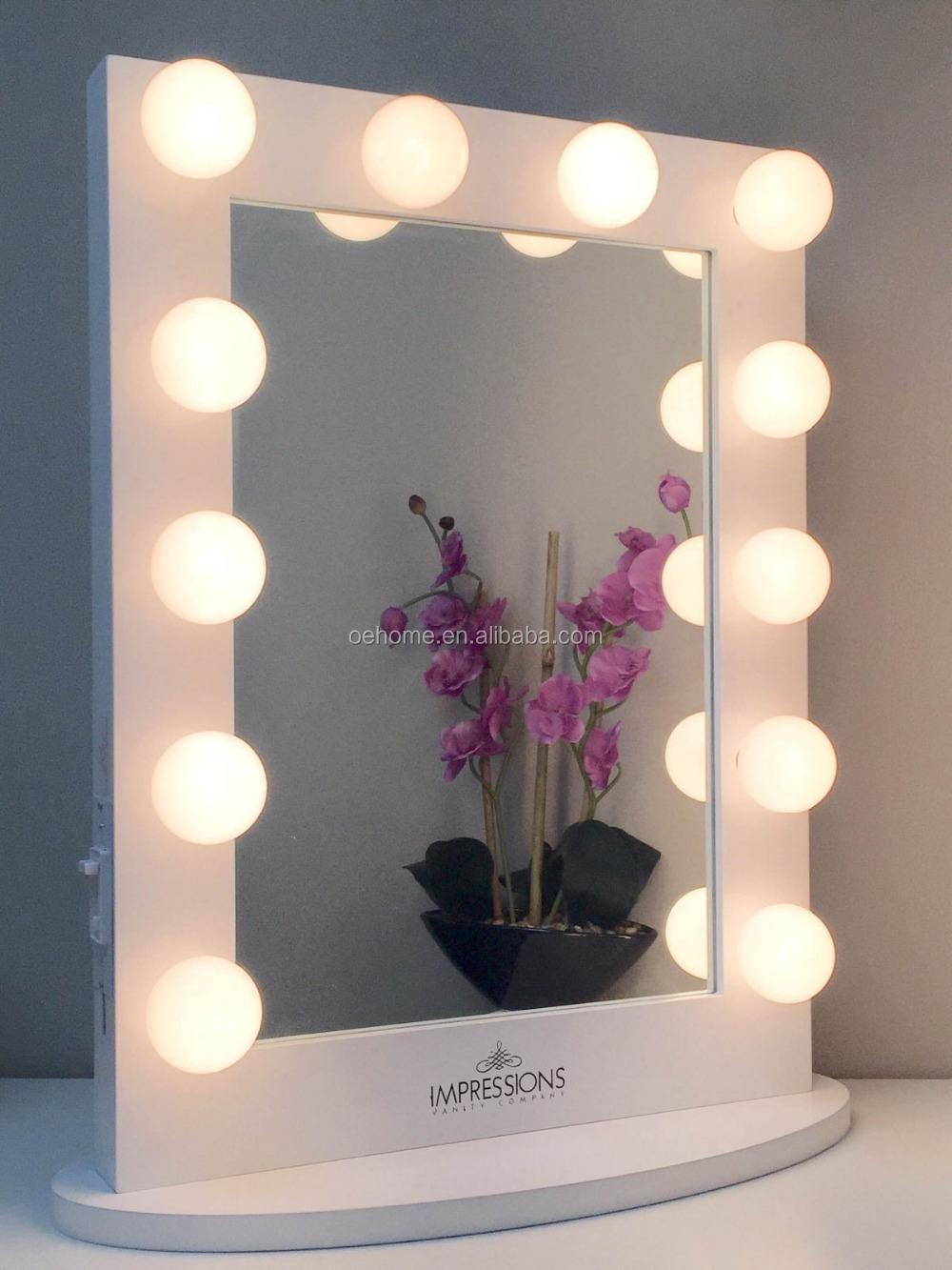 Coiffeuse avec lumineux miroir miroir de maquillageMiroir