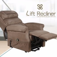 Electric Adjustable Lift Sofa Leisure Home Reclining Bed ...
