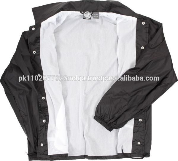 Nylon Coaches Windbreaker Jacket