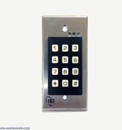 Iei Key Pad - iei 0 205676 stand alone prx rdr w kypd jbj ... Iei E Keypad Wiring Diagrams on