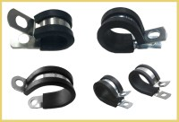 Flexible Rubber Coated Metal Belt Hose/pipe Clamp - Buy ...