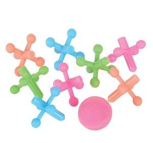 5 plastic jacks set