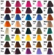 anthocyanin bright color hair dye