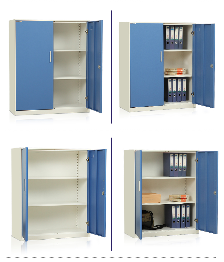 Commercial Metal Short Ark Filing Cabinet With 2 Doors