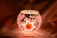 Glass Mosaic Hurricane Candle Holders - Mosaic Lamp,Mosaic ...