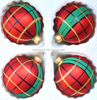 Scottish Christmas Tree Ornaments