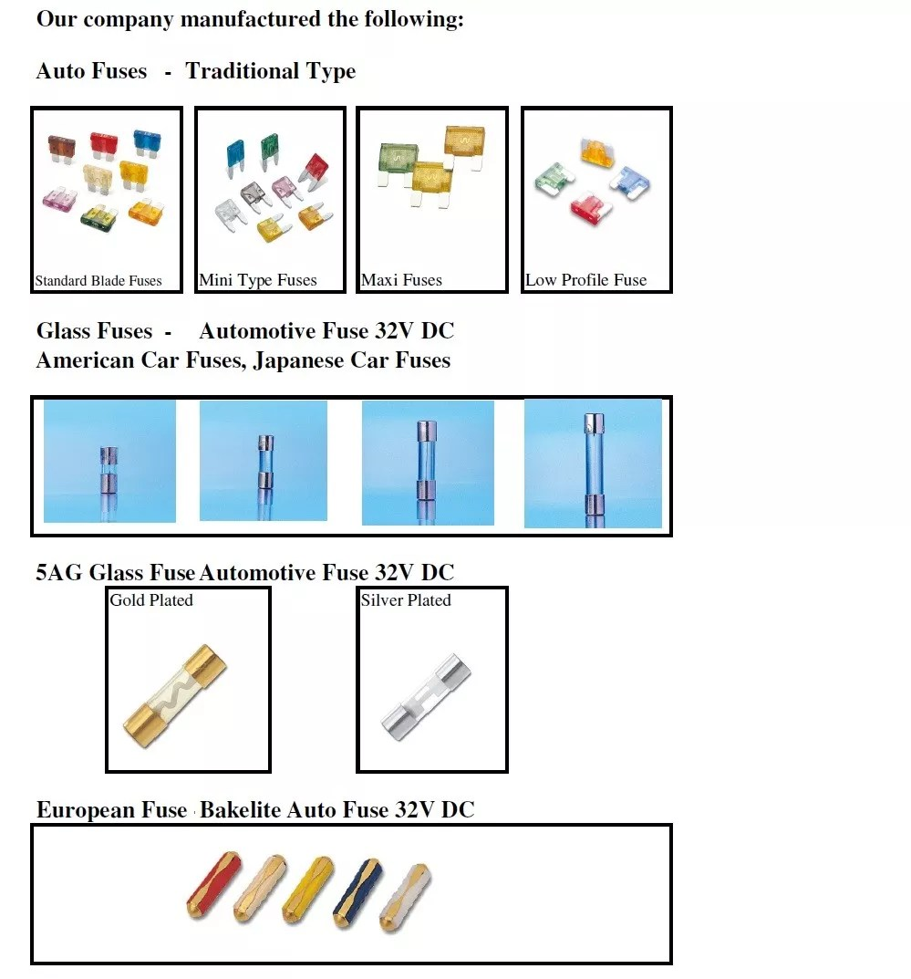 medium resolution of automotive fuse box holder terminal accessories for auto blade standard type fuse block