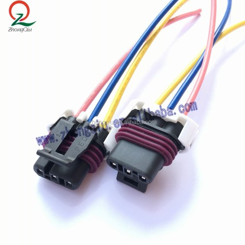 small resolution of 3 pin maf sensor pigtail connector wiring harness for gm ls1 lt1 lt4 5 7l