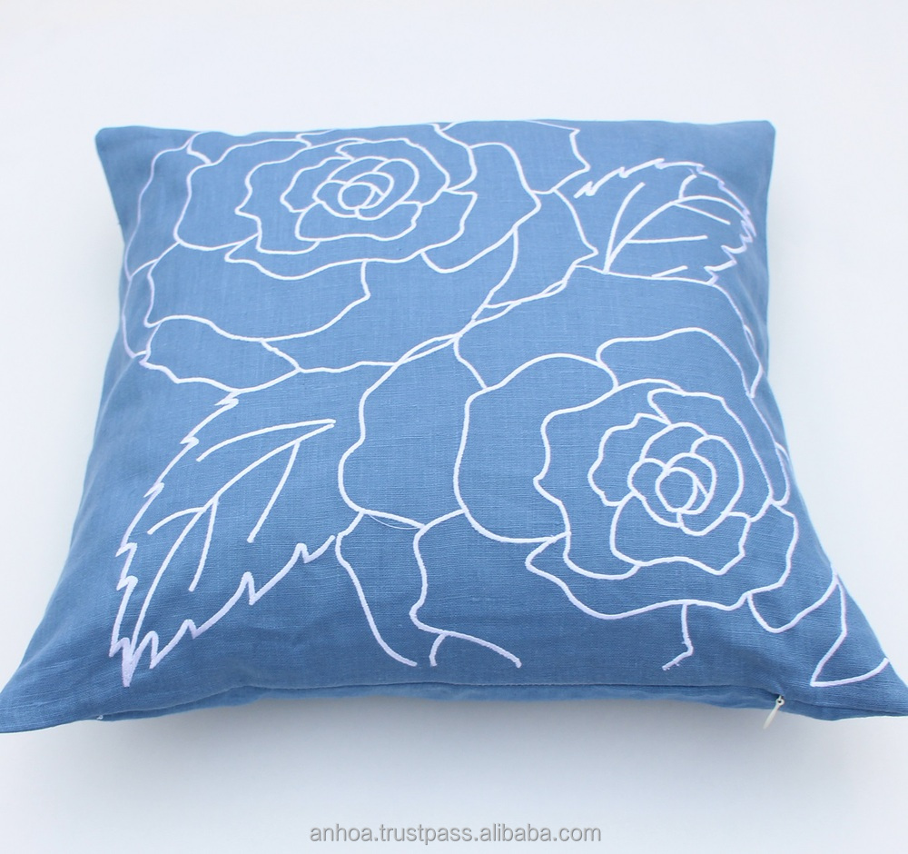 Latest Design Pillow CoverHandmade Embroidery Cushion