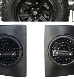 vroomtec jeep wrangler jk jku led round tail lights attractive design and enhanced vehicle safety [ 2560 x 1853 Pixel ]