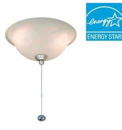 get quotations hampton bay 72199r 2 light ceiling fan light kit [ 1000 x 1000 Pixel ]