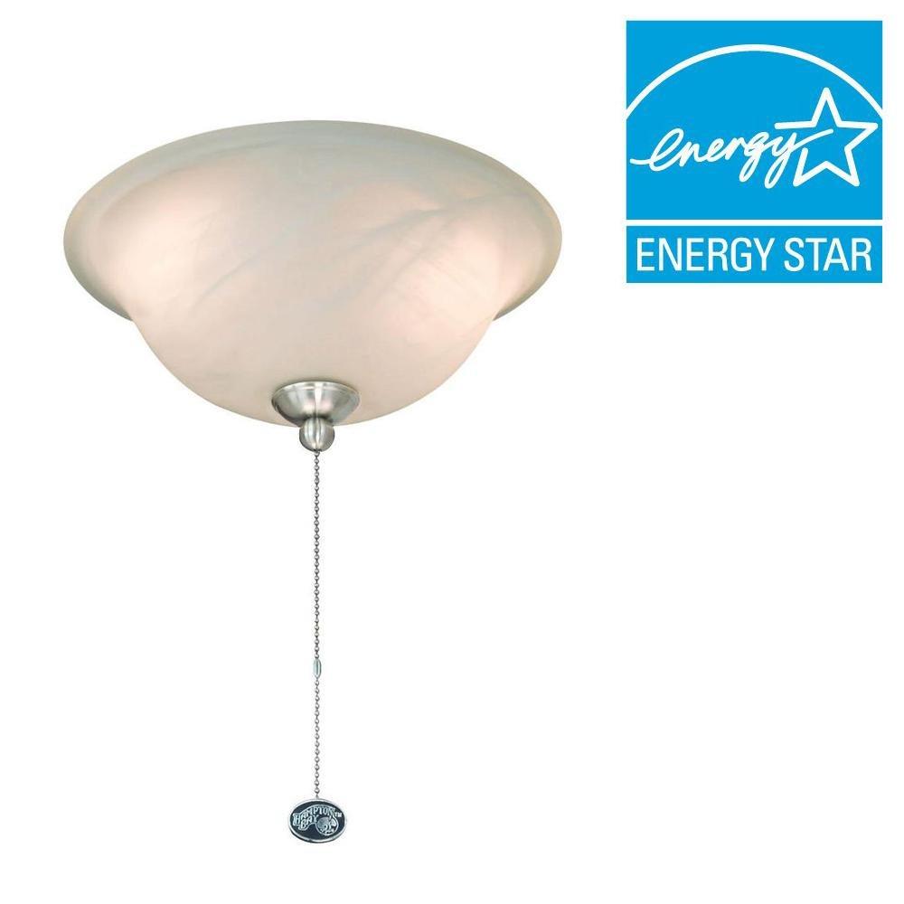 hight resolution of get quotations hampton bay 72199r 2 light ceiling fan light kit