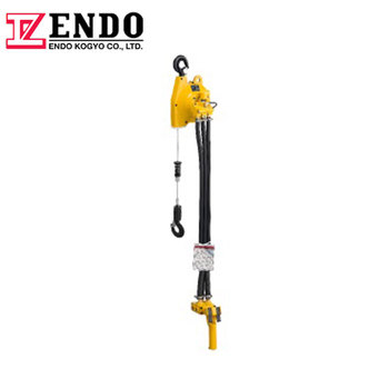 2 kinds of air hoist: Wire rope and Chain type