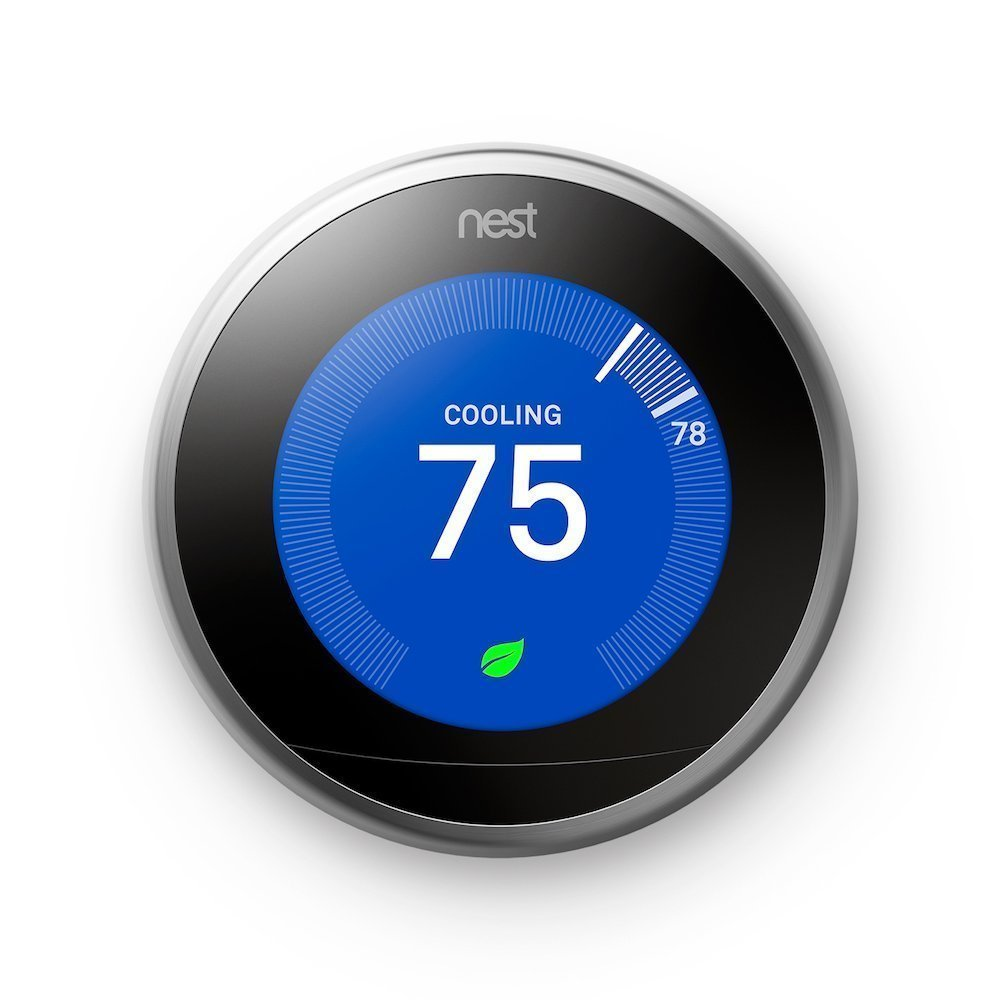 hight resolution of get quotations nest t3007es learning thermostat easy temperature control for every room in your house
