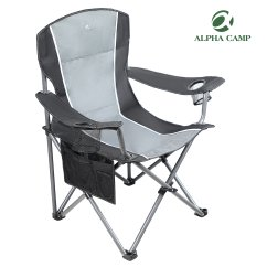 Giant Folding Chair Stressless Office Cheap Camp Find Deals Get Quotations Alpha Oversized Camping Heavy Duty Steel Frame Support 350 Lbs Collapsible Padded Arm