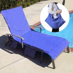 Beach Chair Cover Ergonomic Singapore Cheap Towels Find Deals Get Quotations King Do Way Lounge Towel Microfiber Pool With Pockets Holidays