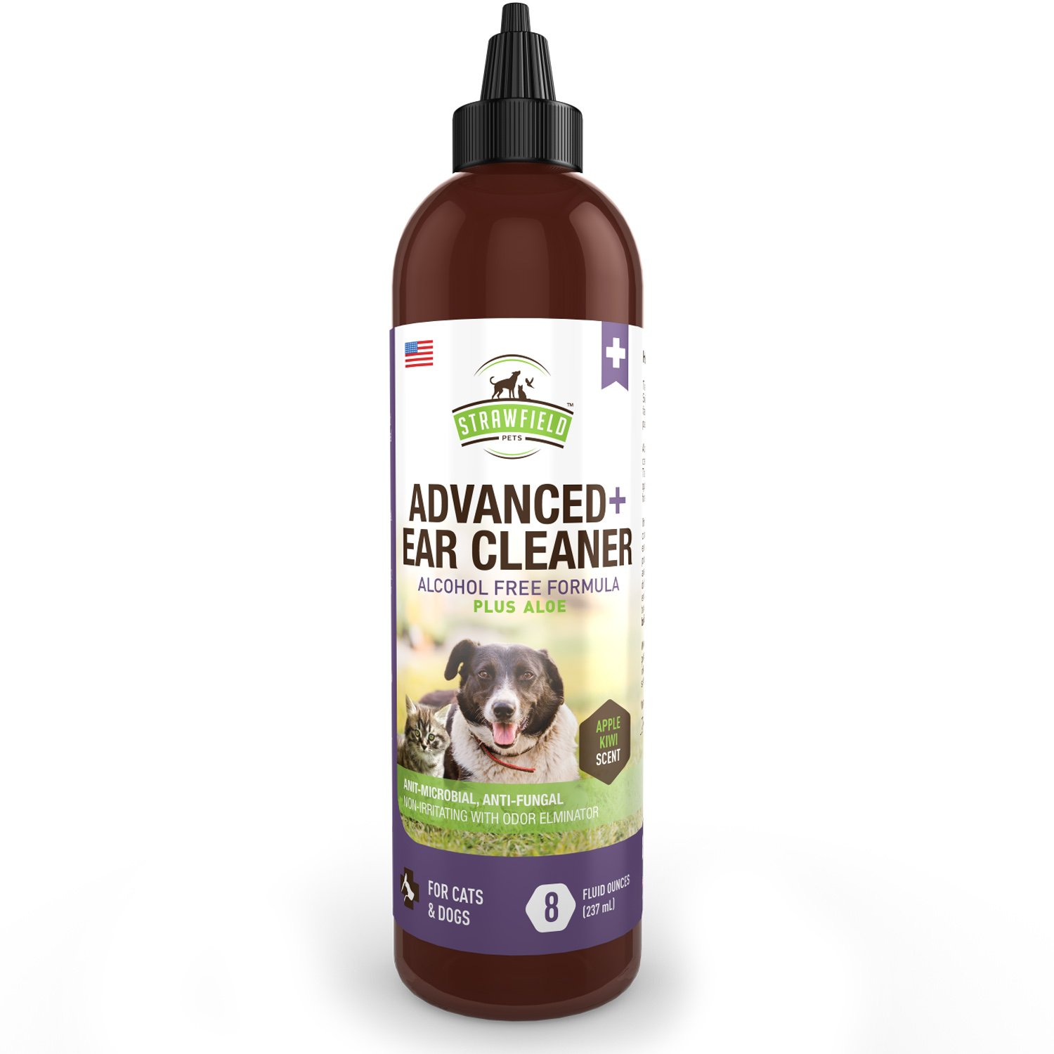hight resolution of get quotations cat dog ear cleaner solution pet cleaning ear wash aloe 8 oz