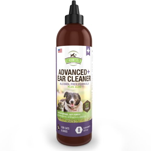 small resolution of get quotations cat dog ear cleaner solution pet cleaning ear wash aloe 8 oz