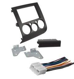 get quotations car stereo radio cd player dash install mounting kit harness for mitsubishi [ 1000 x 1000 Pixel ]